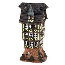 cerámica casa de velas lichterhaus Portavelas Modelo Casa De Madera 16cm 40550