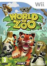World of Zoo (Nintendo Wii Game) * bon état *