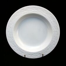 "Studio Nova FRENCH BASKET WHITE M2075 Rimmed Soup Bowl(s) 9 1/8"" x 1 3/8"" EXC"