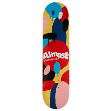 Almost Skateboard Deck Spotted Impact Cream 7.75""