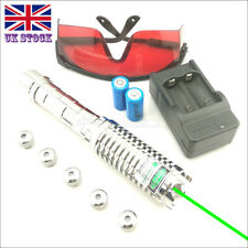 GX9-C 1MW 520nm Green Laser Pointer Visible Lazer Pen&Battery&Charger&Goggles UK