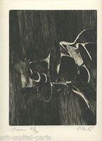 CLERTÉ JEAN GRAVURE SIGNÉE CRAYON NUM/90 HANDSIGNED NUMB/90 ETCHING ABSTRACTION