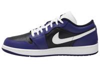 Nike Air Jordan Retro I 1 Low GS Court Purple Black Toe 553560 501 4Y-7Y