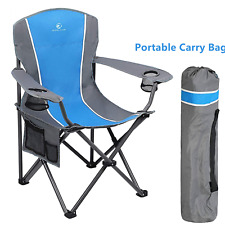 Chairs Camping Folding Oversized Heavy Duty Cup Holder Portable Outdoor Chair