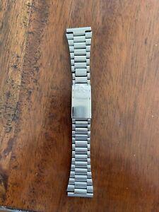 Vintage Authentic Omega 1170 bracelet 22mm 311 End Links No.12 Clasp Speedmaster