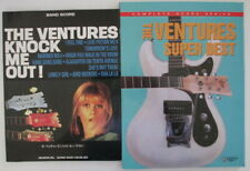 Ventures Knock Me Out! band score Super Best complete score import Japan Korea