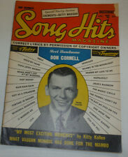 Song Hits Magazine Frank Sinatra & Don Cornell December 1954 120614R