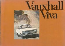 Vauxhall Viva HB Standard De Luxe SL Estate 1970 Original UK Brochure No. V1924