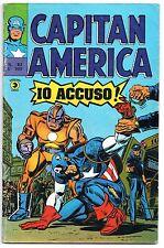 CAPITAN AMERICA corno N.82 IO ACCUSO ! luke cage power man black panther 1976
