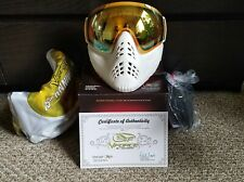 BRAND NEW IN BOX VForce Profiler Mask 15th Anniversary White Gold - #125 of 200