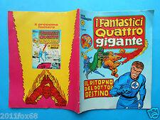 fantastici quattro gigante 5 serie cronologica serie corno 1978 fantastic four z