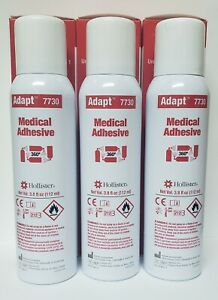 3 Cans x Hollister Adapt Medical Adhesive Ref# 7730 Exp: 4/2025