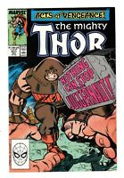 THE MIGHTY THOR 411 VF/NM (9.0) 1ST NEW WARRIORS, JUGGERNAUT COVER (SHIPS FREE)*