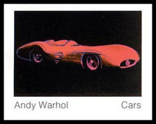 Andy Warhol Cars Formula I Car W 169 Bj 1954 Poste Kunstdruck Bild mit Alurahmen