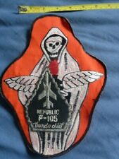 More details for republic f-105 thunderchief, usaf (?) , and other unknown older cloth patches