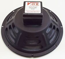 "VOR 10"" Alnico Magnet 25 watt Guitar Speaker - Jensen P10R Upgrade - 8 ohm"