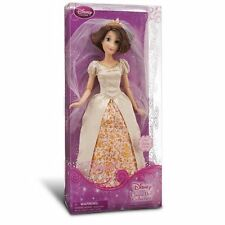 Disney Store Princess Rapunzel Tangled Ever After Wedding Doll 12in. Short Hair