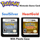 3DS NDSi NDS Lite game cards Naked Cards - Pokemon Heart Gold & Soul Silver New