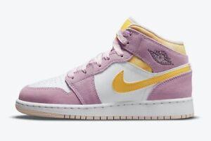 Jordan 1 Mid SE Arctic Punch (PS) Size 12C Preschool DC9519 600 *AUTHENTIC* Pink
