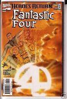 Fantastic Four 1998 series # 1 Sunburst variant near mint comic