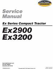 Cub Cadet Yanmar  Service Manual Model EX2900 & EX3200