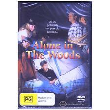 DVD ALONE IN THE WOODS Brady Bluhm 1996 Comedy Crime HOME ALONE REGION 4 [BNS]