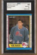 1989-90 O-Pee-Chee #113 Joe Sakic RC   SGC Graded NM/MT +