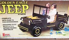Vintage Plastic Jeep Golden Eagle Empire Toys For 1/6 Figures MIB 1978