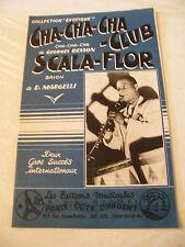 Partition Cha Cha Cha Club Scala Flor Besson Margelli 1958 Leardee