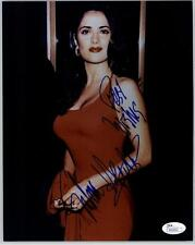 SALMA HAYEK, HOT IN SEXY RED DRESS SIGNED 8X10 JSA AUTHENTICATED COA #N44656