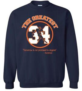 NFL WALTER PAYTON #34 Fleece Crewneck Sweatshirt - CHICAGO BEARS crew