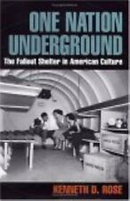 One Nation Underground: The Fallout Shelter in American Culture: By Kenneth D...