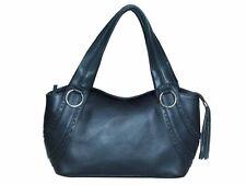 CENZONI genuine leather handbag  - Dark Brown