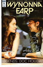Wynonna Earp Cast Signed Exclusive Variant Signed By 3 Tim Roson  Wondercon