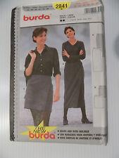 Burda Pattern 2841 Skirt Sizes 10-20 Uncut