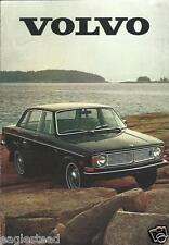 Auto Brochure - Volvo - 140 164 1800E  - 1970 (AB722)