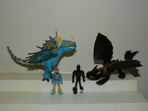 How to Train Your Dragon Deadly Nadder Toothless Night Fury Hiccup Lot!