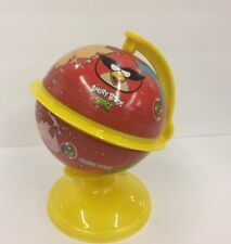 Imported Angry Birds SPACE Tin Piggy Banks Globe - RED