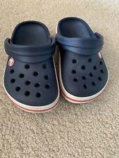 Crocs Infant Size 7 Navy