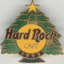 Hard Rock Cafe 1993 Christmas Pin Tree with Ornament and Gold Star - Hrc #23558