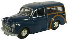 Oxford 76mmt002 Morris Minor travaller Blu 1/76 NUOVO IN SCATOLA-t48 POST