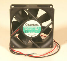 "Fan - 3 1/8"" Square x 1"" Thick - 12 Vdc"