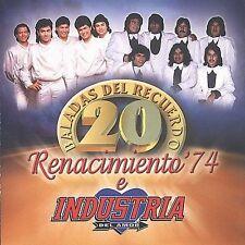 Industria Del Amor : 20 Baladas De Recuerdo CD