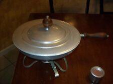 Vintage/ Antique  Silver Warming Pan B.W. Buenilum  U.S.A.