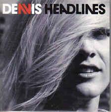 Denis-Headlines cd single