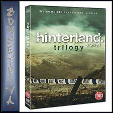 HINTERLAND - TRILOGY COMPLETE  SEASONS 1 2 & 3  *** BRAND NEW DVD ***