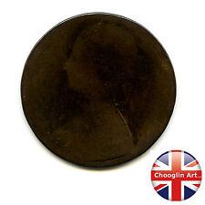 A British Bronze 1862 VICTORIA PENNY Coin                       (Ref:1862_45/46)