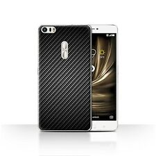 Case/Cover for Asus Zenfone 3 Ultra ZU680KL/Carbon Fibre Effect/Pattern/Grey