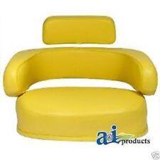 3 PIECE YELLOW SEAT CUSHION SET JOHN DEERE 3010,4020,4320,4430,4630,6030,7520#BG