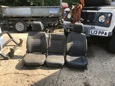 Land Rover Defender Vinyl Front Seats